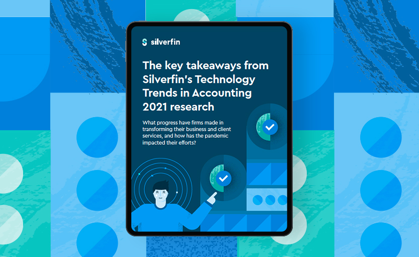 Silverfin - Infographic with key findings of our Technology Trends in Accounting 2021