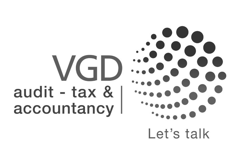 VGD Logo in Black and White