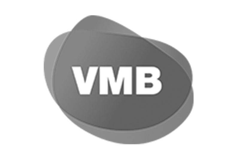 VMB logo in black and white