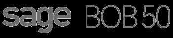 Integrations  SageBOB50 Logo BW
